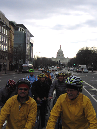 Congressional Bike Ride in Support of Rep. Giffords