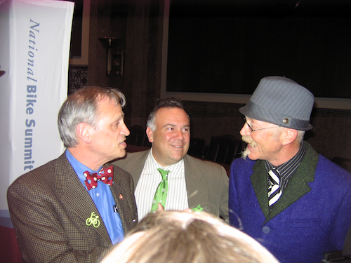 Rep. Earl Blumenauer and Gary Fisher