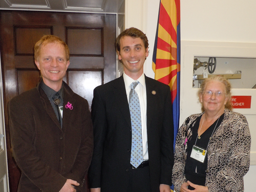 Ted and Kristi with Rep. Ben Quayle, R-Ariz.