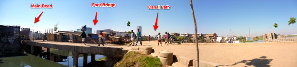 Antananarivo Foot Bridge