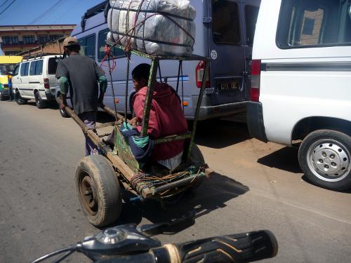 Antananarivo Rickshaw