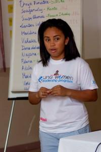 Madagascar Youth Advocate Randrianasolo Lova Andrianina, age21