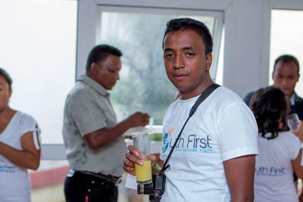 Madagascar Youth Advocate Rakotojaona Njaka, age 23
